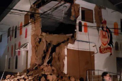 Primeras imágenes del terremoto de magnitud 8,0 que se sintió en Perú, Ecuador, Brasil y Colombia