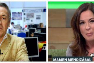 """Hermann Tertsch despedaza a Mamen Mendizabal por su tibia condena a los acosadores de Begoña Villacís: """"Eres basura moral"""""""