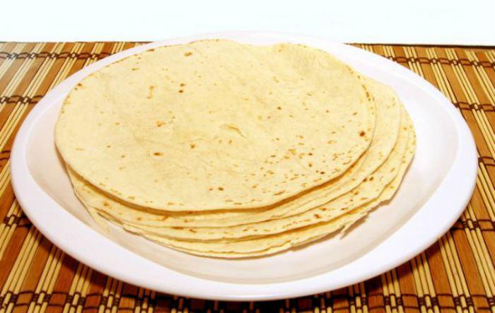 tortitas de trigo wrap
