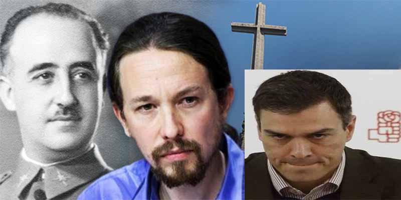 El socialista Sánchez convertirá por ley el Valle de los Caídos en un parque temático de la II República