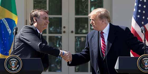Brasil negocia un mega acuerdo de libre comercio con Estados Unidos