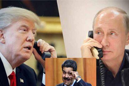 Venezuela: Trump y Putin negocian una solución 'pacífica' para echar al tirano Maduro y los esbirros chavistas
