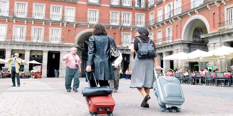 España: La llegada de turistas internacionales se hunde un 89,5% en enero