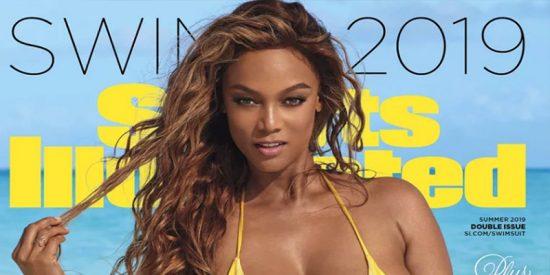 Tyra Banks vuelve a ser portada de 'Sports Illustrated' a sus 45 años y mas sexy que nunca