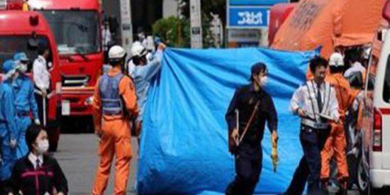 Una niña y un hombre muertos, y 16 heridos, la mayoría escolares, tras un terrible ataque con cuchillos en Japón