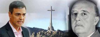 Sánchez empieza a remover tumbas en el Valle de los Caídos para ver si el polvo tapa la ignominia de los indultos