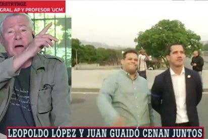 Eso te pasa por darle voz, Ferreras: Verstrynge es el perfecto representante de Maduro en laSexta y así dice tanta idiotez