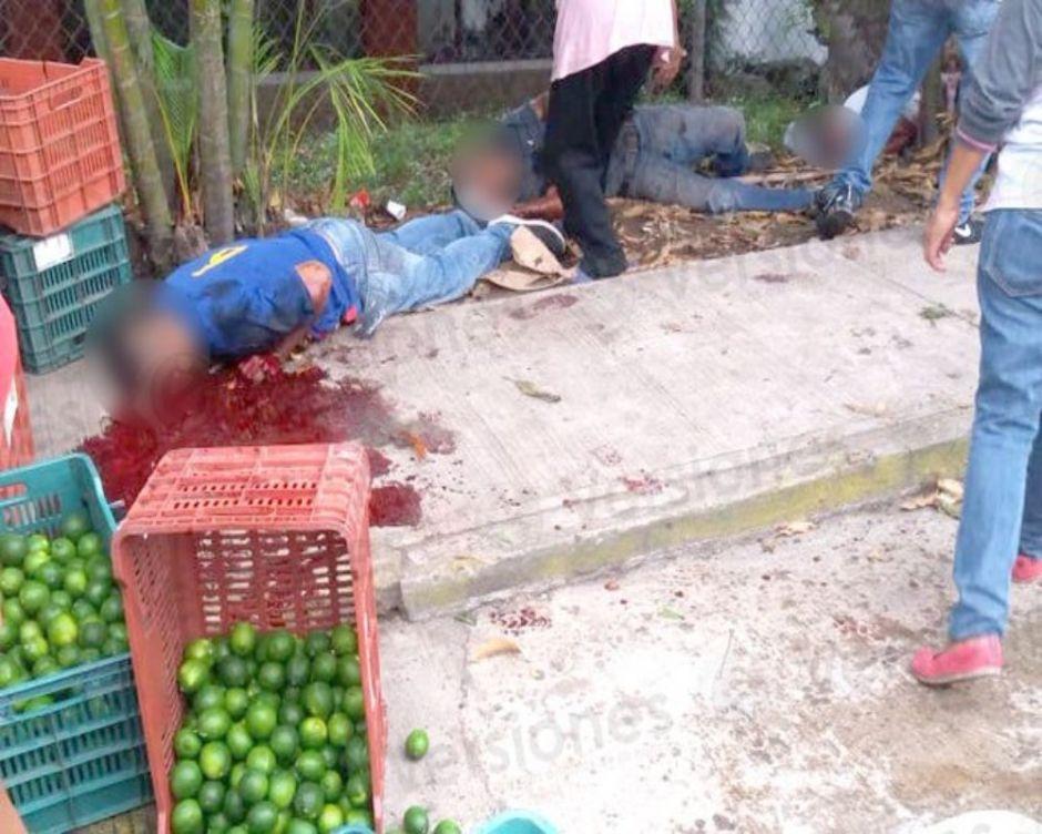 Vídeo: El instante en que sicarios masacran sin piedad a cinco personas en México