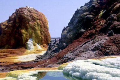 Descubren en un volcán terrestre microbios que viven en condiciones similares a las de Marte