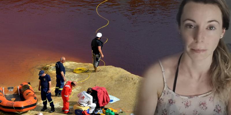 Esta 'Youtuber' sube imágenes de un lago en Chipre donde se ve una maleta que habría contenido un cadáver
