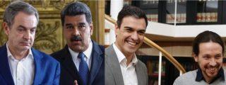 Exclusiva: Zapatero está en Caracas para cumplir una 'doble misión' de Sánchez