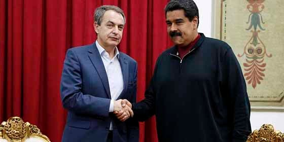 """Caretas fuera: La entrevista a EFE en la que """"el vampiro"""" Zapatero manifesta su apoyo al dictador Nicolás Maduro"""