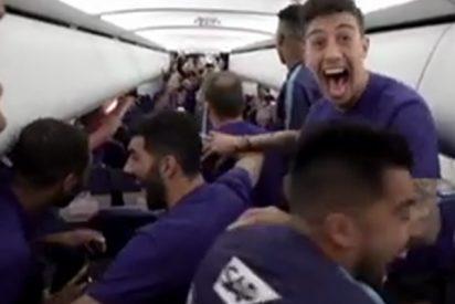 (VIDEOS): Los jugadores del Zenit se enteran en pleno vuelo de que son campeones de Rusia y cantan reguetón para celebrarlo