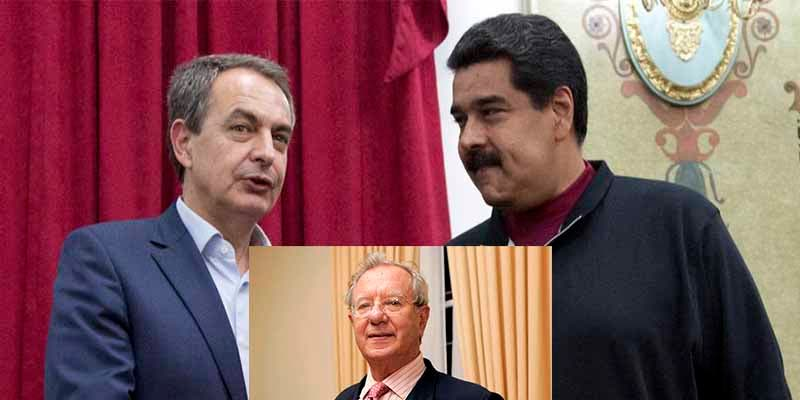 """Zarandean al PSOE por su impostada preocupación por Venezuela: """"¿Y qué les contaba Zapatero o su embajador? ¡Cuerda de sinvergüenzas!"""""""