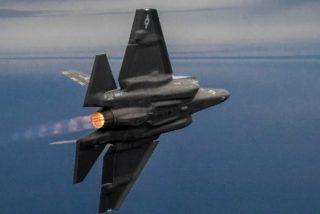 El vuelo supersónico acabó siendo peligroso para los aviones de combate F-35 Lightning II