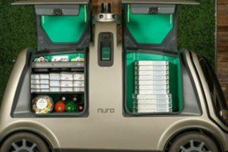 Este vehículo no tripulado sin asiento de chofer repartirá pizzas en Houston
