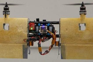 Ahora tú mismo puedes construir un dron de despegue vertical tipo tail-sitter