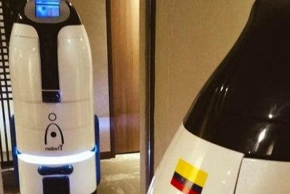 Así es el novedoso robot 'camarero' para hoteles