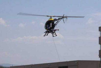 Este nuevo sistema de aterrizaje permite aterrizar a helicópteros y drones en plataformas móviles sin GPS
