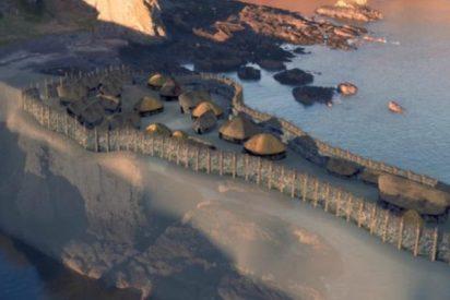 Reconstruyen en Escocia esta antigua fortaleza del Siglo III