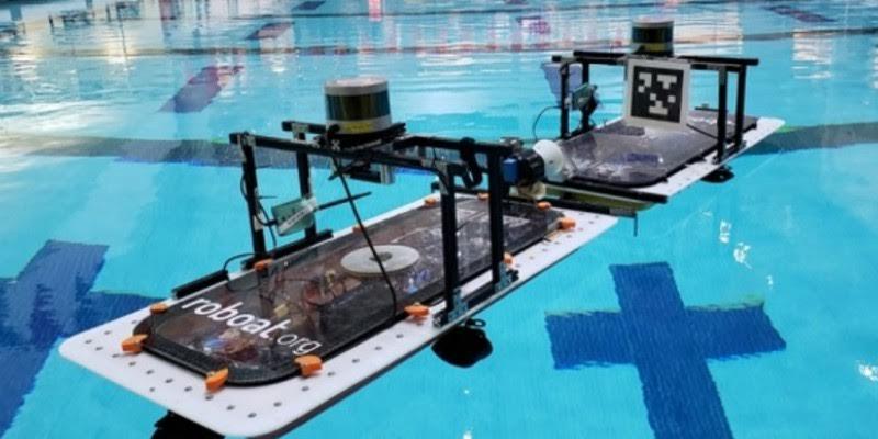 Así son los robots flotantes capaces de unirse a embarcaciones