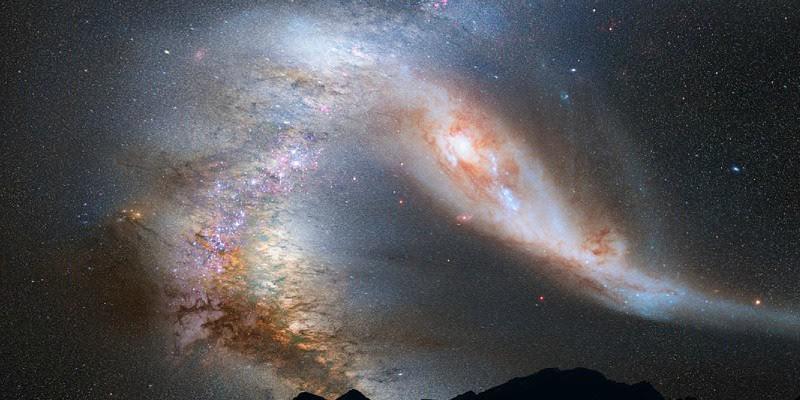 Descubren un agujero negro de nuestra galaxia rodeado por una nube de gas frío