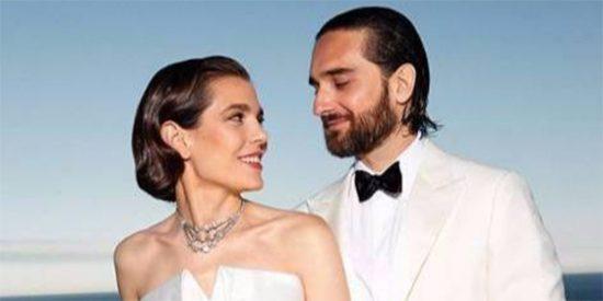 La boda de CARLOTA CASIRAGHI y Dimitri Rassam: una auténtica alfombra roja