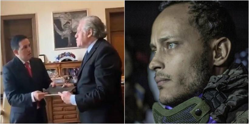 Exdiputado venezolano muestra en la OEA las pruebas de la masacre de Óscar Pérez, el militar que retó a Maduro