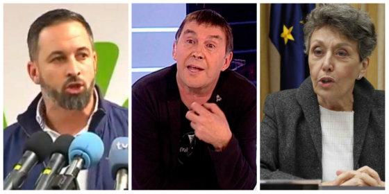 Santiago Abascal destapa cuál era la aviesa estrategia de Rosa María Mateo para blanquear a Otegi