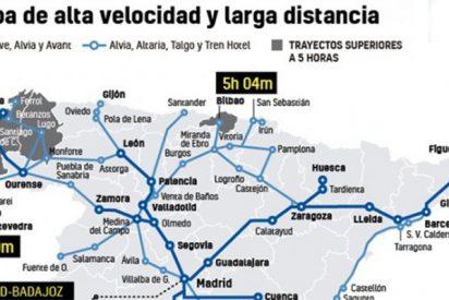 El AVE llega a todos lados, tras 30 años de obras faraónicas, menos a la pobre Extremadura