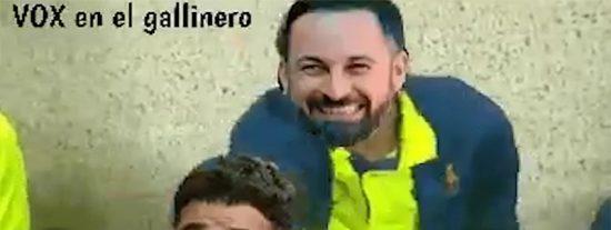Santi Abascal se estrena en el Congreso sacudiendo una colleja a Rufián e incendia las redes sociales