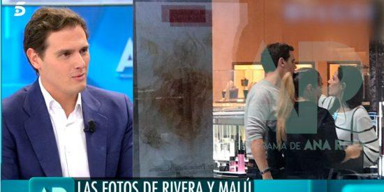 Albert Rivera confirma su relación con Malú en 'El Programa de Ana Rosa'