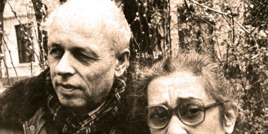 Andrei Sakharov y Elena Bonner.