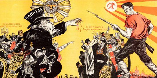 Rusia: Así eran los carteles soviéticos en contra de la religión y los popes ortodoxos.