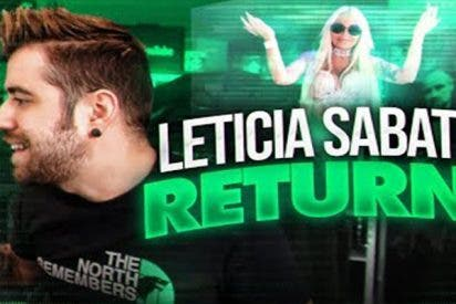 ¿Todavía no has visto el vídeo del youtuber AuronPlay sobre Leticia Sabater?