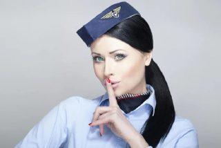 Chiste: el del servicio a bordo y la azafata molona