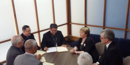 Los obispos solicitan a Bachelet que en su informe refleje el rostro real de Venezuela