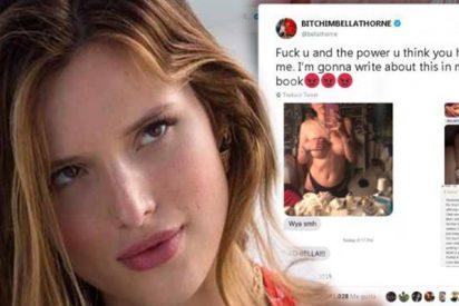 Un 'hacker' amenaza a Bella Thorne con difundir sus fotos desnuda y ella se adelanta y las publica