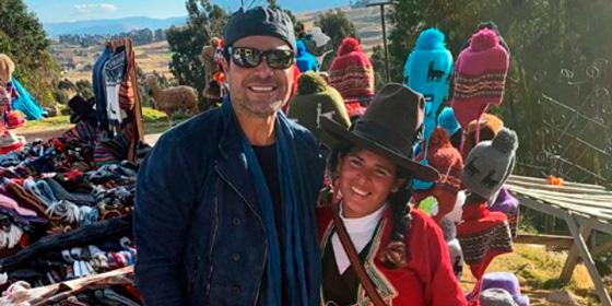 Chayanne, nuevo Embajador del Turismo en el Perú