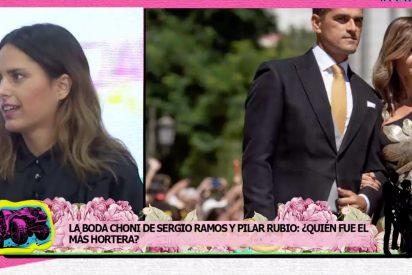 Los detalles de la boda de Ramos y Pilar Rubio en los que esperamos que Belén Esteban no se haya fijado