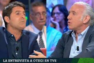Eduardo Inda deja en 'bolas' a Jesús Cintora por su infame blanqueo a Otegi