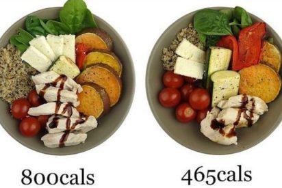 Dieta: ¿Sabes cómo hacer que tus platos tengan la mitad de calorías?