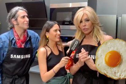 Mario Vaquerizo y Bibiana Fernández: del huevo frito a cantar como si no hubiera un mañana