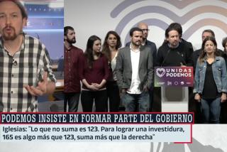 """Pablo Iglesias junto a toda la """"frescura"""" de los rancios podemitas."""