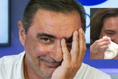 Carlos Herrera se echa a 'llorar' en directo en solidaridad con Ada Colau