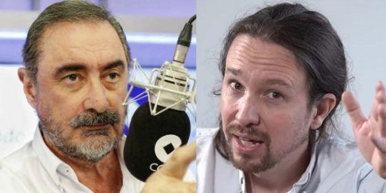 Iglesias se pide el ministerio de Hacienda y a Herrera le entran escalofríos y mucha mala leche