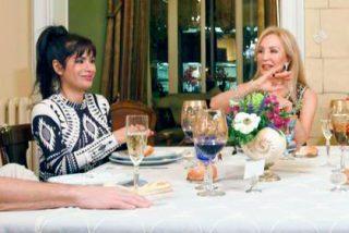 """Carmen Lomana tiene claro a quien se le parece Miriam Saavedra: """"Es como una mujer del Paleolítico"""""""