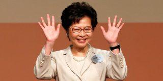 La líder de Hong Kong da por 'muerta' de ley de extradición, abrumada por las protestas masivas