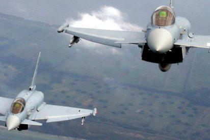 Dos cazas Eurofighter se estrellan en Alemania tras chocar en el aire