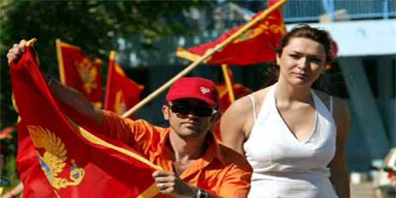 La República de Montenegro multará con 20.000 euros la falta de respeto a símbolos nacionales